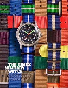 TIMEX MILITARY WATCH COLOR