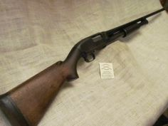 Vintage 20ga. Winchester Model 12, Mfg. 1937Loading that magazine is a pain! Get your Magazine speedloader today! http://www.amazon.com/shops/raeind