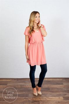 The Ally Tunic Dress!
