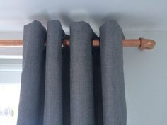 This curtain rail is extremley simple to create … this is what you will need (I bought everything from B&Q I have included the product codes) :- Copper Tube (dia) 22mm (smaller diameter w…