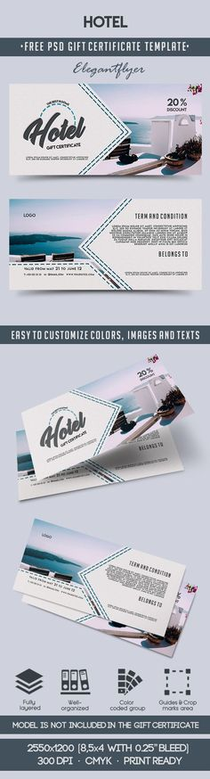 68 best Free Gift Certificate Templates images on Pinterest
