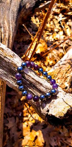 Hematite and Amethyst Bracelet - Healing and Protection Amethyst Bracelet, Gemstone Bracelets, Gemstone Jewelry, Diy Jewelry, Beaded Jewelry, Jewlery, Rocks And Gems, Handmade Sterling Silver, Cleanses