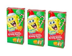 CHRISTMAS Tree Shaped Gummy Krabby Patties Candy Spongebob Squarepants Pack of 3 Boxes  http://www.fivedollarmarket.com/christmas-tree-shaped-gummy-krabby-patties-candy-spongebob-squarepants-pack-of-3-boxes/