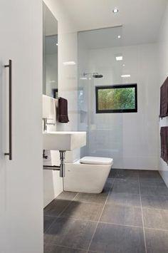 Modern bathroom at Aireys Inlet