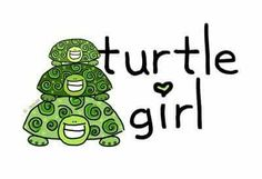 An adorable animal lover design Baby Animals, Cute Animals, Happy Turtle, Cute Turtles, Sea Turtles, Turtle Rock, Turtle Time, Tortoise Turtle, Terrapin