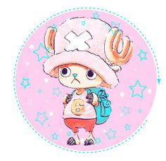 """Chopper! ♡"" by carebear-chan ❤ liked on Polyvore featuring art, anime, manga, onepiece, chopper and tonytonychopper"