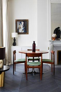Свежий интерьер квартиры в Париже - Дизайн интерьеров | Идеи вашего дома | Lodgers
