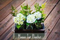 Hoot Designs: Mason Jar Planter - DIY