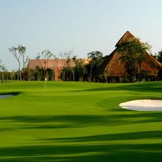 Moon Palace Golf Resort in Cancun, Mexico is a Nicklaus Design golf club and a popular golf course.