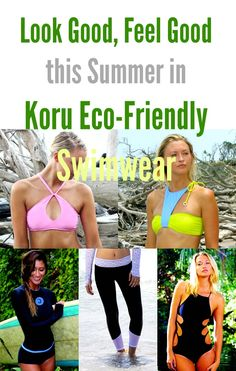 Look Good, Feel Good this Summer in Koru Eco-Friendly Swimwear