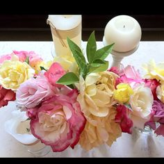 spring flower coffee table arrangement. Coffee Table Arrangements, Coffee Table Centerpieces, Table Decorations, Spring Flowers, Bouquet, Wedding Ideas, Garden, Home Decor, Plants