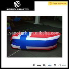 Norwegian Flag Inflatable laybag VS Digital print Norway flag Air Sofa