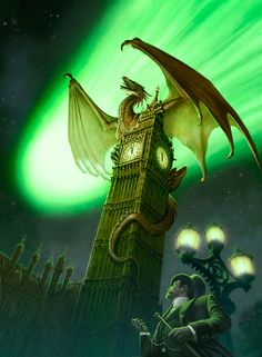 Dragons in Europe!  Now I really have to travel there!  Catch me a Dragon...