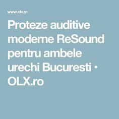 Proteze auditive moderne ReSound pentru ambele urechi Bucuresti  • OLX.ro