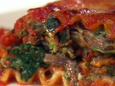 Short Rib Lasagna Rolls recipe from Giada De Laurentiis via Food Network