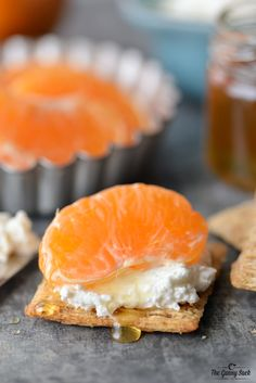 Creamy Honey Tangerine Bites | thegunnysack.com