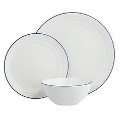 Buy John Lewis Coastal Boxed China Set, 12 Piece Online at johnlewis.com
