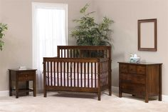 The Amish Family Values Nursery Set Furniture Large Dresser