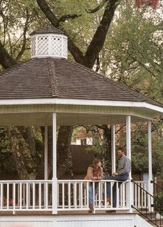 Free Plans to Help You Build a Wooden Gazebo: Gazebo Plan from Mother Earth News