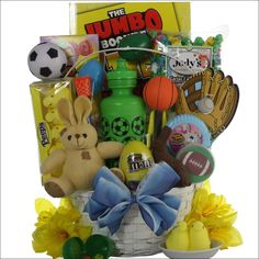 Easter diva easter gift basket for tween girl ages 10 13 years old 10 to 13 years old egg streme sports blue white easter gift basket boys 6 9 great arrivals eatb negle Images