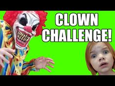 Creepy Clown Trashes Our House! Bad Clown Sighting continues when the Creepy Killer Clown trashes our house, and blames th. Clown Scare, Creepy Clown, Scary, Challenges, Youtube, Bloody Mary, Drinks, Drinking, Beverages