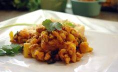 Recette végétarienne aux protéines de soja en vidéo Bonjour et bienvenue dans mon blog cuisine , aujourd'hui nous allons cuisiner le soja texturé . Ce sont des protéines de soja , très importantes dans le régime végétarien . Pour faire cette recette végétarienne,...