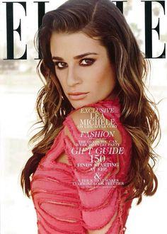 Lea Michele article in US ELLE