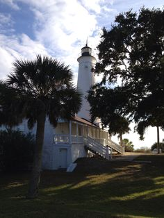 St. Marks lighthouse Florida _ Florida's Forgotten Coast _ For vacation rentals in this area, visit www.facebook.com/debsrentals or www.alreadygonefishing.com.  #vacation #rental #travel