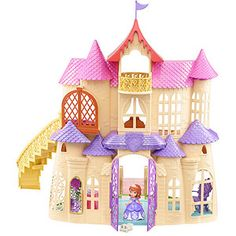 Disney Sofia the First Magical Talking Castle Play Set