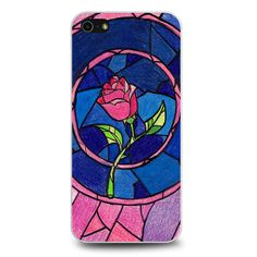Beauty and The Beast Flower iPhone 5[S] Case