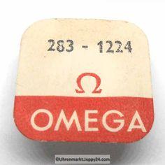 Omega Minutenrad mit Minutenrohr, NOS 5,50mm Part Nr. Omega 283-1224