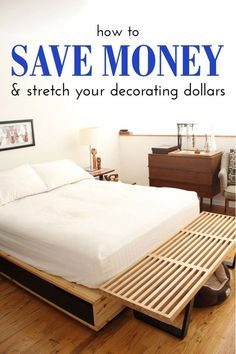 Frugal Living: How To Save Money and Stretch Your Decorating Dollars