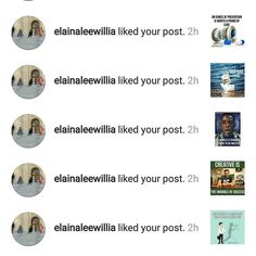 Shot out to @elainaleewillia! Much Love back at you!