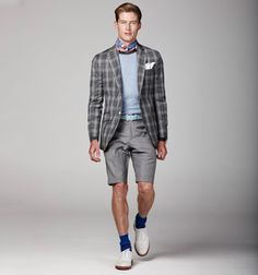 Great use of color and pattern. Hackett S/S 2012.