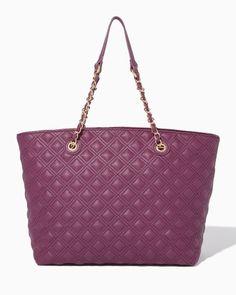 Diamond Quilt Tote | Fashion Handbags | charming charlie