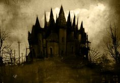 This is an amazing Gothic castle!