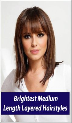 Medium length layered hairstyles are fabulous and attractive. Once put on, easy to manage. There are plenty of variations in medium length short hairstyles