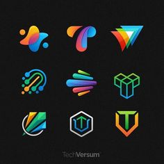Some of logo mark explorations from my lastest project. I'd be happy to hear your thoughts about these marks. Typo Logo Design, Graphic Design, Logo Design Inspiration, Icon Design, Alliance Logo, Lab Logo, Logo Process, Logo Color, Creative Logo