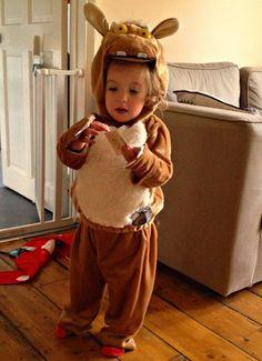 Gruffalo costume for children