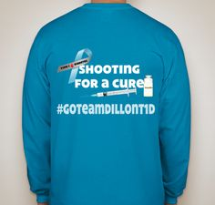 A good friend of mine has had a rough year. Her son was diagnosed with Type1 Diabetes. I can't fix the challenges she is facing, but I can help fight for a cure! I know some of you can't come walk with me on November 2. You can still help us fight! Buy a T-Shirt to show your support! #GoTeamDillonT1D