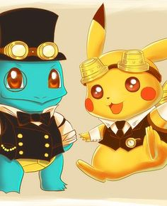 Cute Pokemon Picture : Steampunk Pokemon by dreamwatcher7. http://animartworks.net/