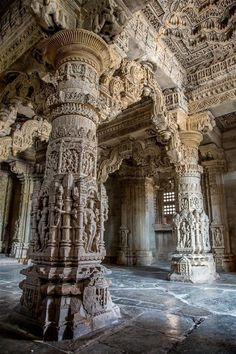 🕉 Dhan Dhan baba shri chand ji 🕉 - hinducosmos: Ornate interior of Sas . - 🕉 Dhan Dhan baba shri chand ji 🕉 – hinducosmos: Ornate interior of Sas … - Indian Temple Architecture, Architecture Baroque, India Architecture, Ancient Architecture, Beautiful Architecture, Beautiful Buildings, Architecture Details, Beautiful Places, Architecture Tools