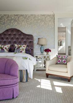 15 têtes de lit typiquement féminine avec une touche de délicatesse - Aren't these colors attractive together