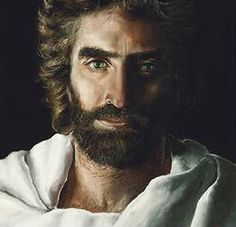 A little girl who had a heaven experience drew this picture of Jesus. A little boy (Colton Burpo) who also had a heaven experience saw this picture and told his family that this was the real Jesus he had seen as well. Interesting.