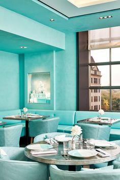 Blue Box Cafe, le nouveau restaurant de Tiffany & Co à New York