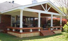 Proiecte de case cu terase acoperite pentru familie