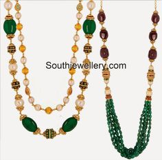 Classy Pearl and Beads Strands