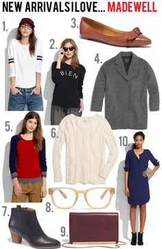 jillgg's good life (for less) | a style blog: new arrivals I love... madewell!