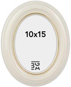 Eiri Mozart Oval Hvit 9x12 cm - BGA Fotobutikk Bga, Photo Store, Nest Thermostat