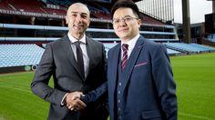 New era starts with Dr Tony Xia and Roberto Di Matteo at Villa Park Aston Villa Fc, Villa Park, Football, Club, Soccer, Futbol, American Football, Soccer Ball